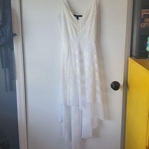 White BCBG dress XXS
